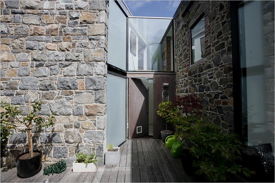 Entrance, Front Door, Barn Conversion on the Island of Guernsey