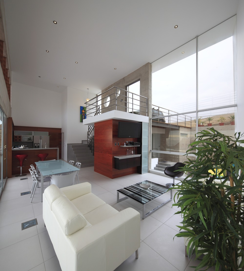 Entrance, Stairs, Open Plan Living Space, Stunning Home situated above Palillos Beach, Peru