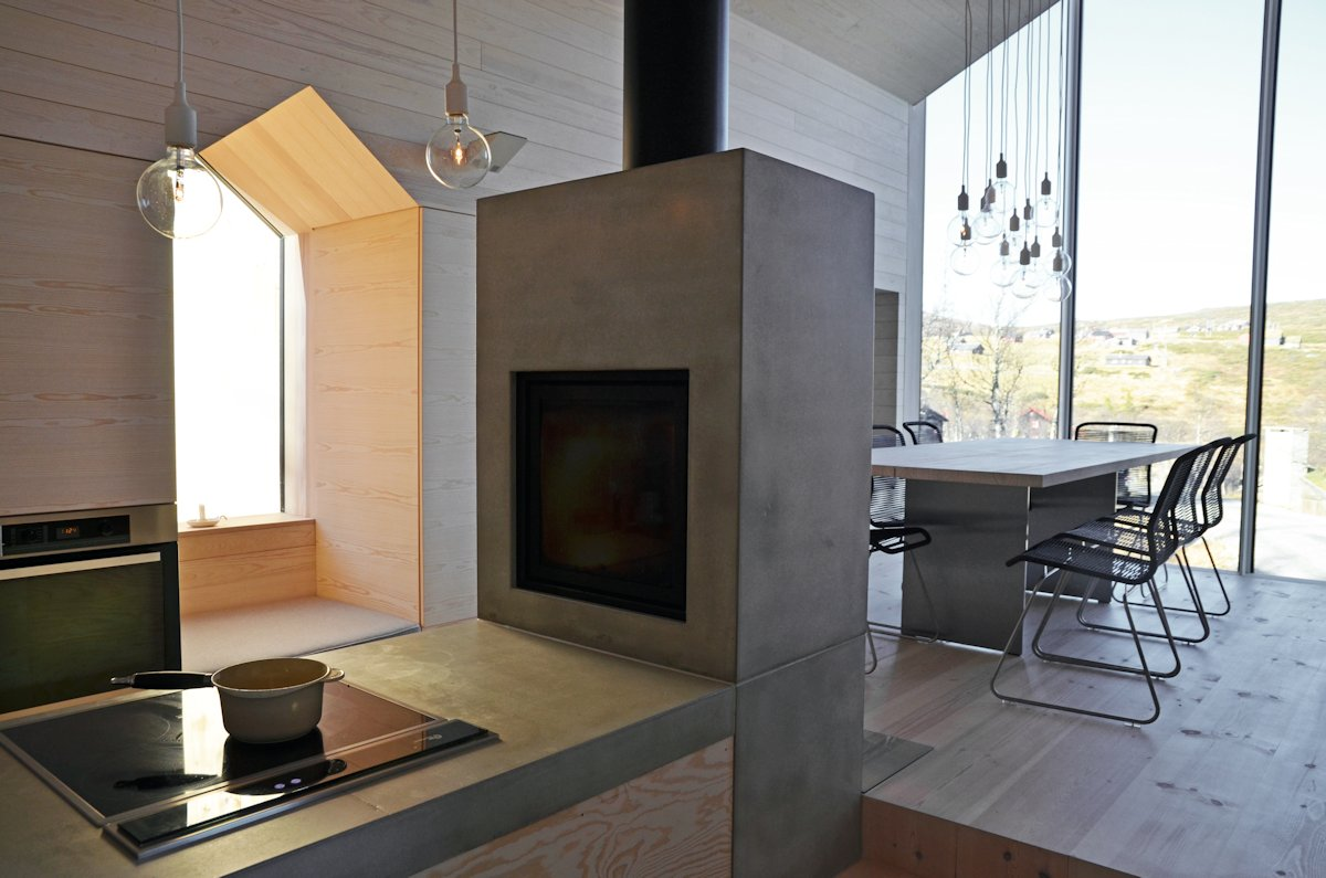 Kitchen, Dining, Lighting, Holiday Lodge in Havsdalen, Norway