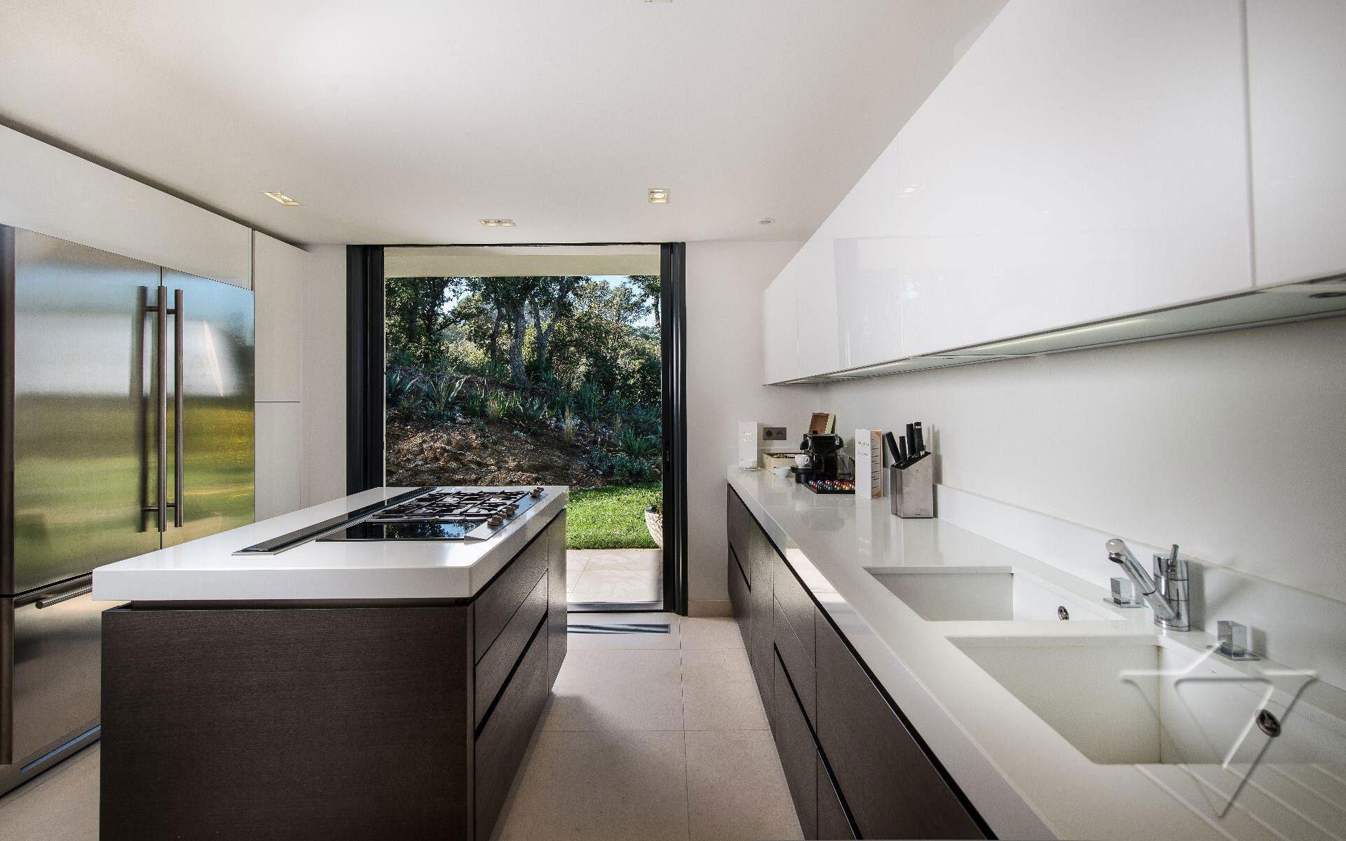 Kitchen Island, Luxury Holiday Villa in Saint-Tropez, France