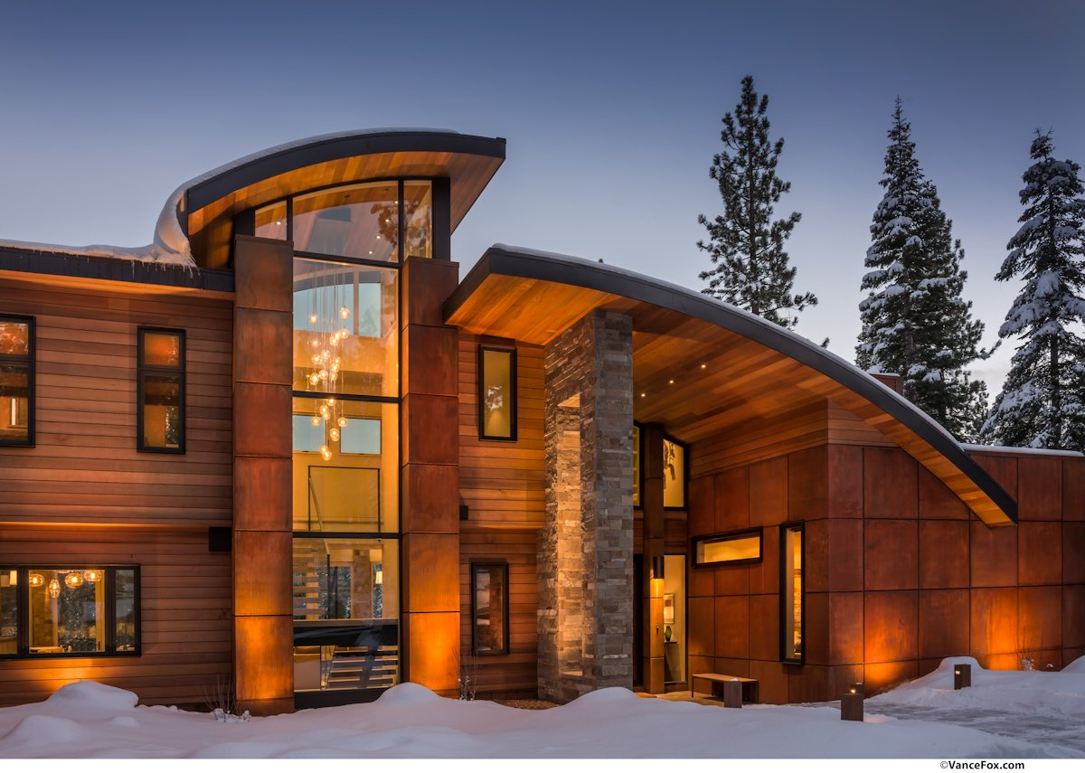 Lighting, Home near Lake Tahoe, California