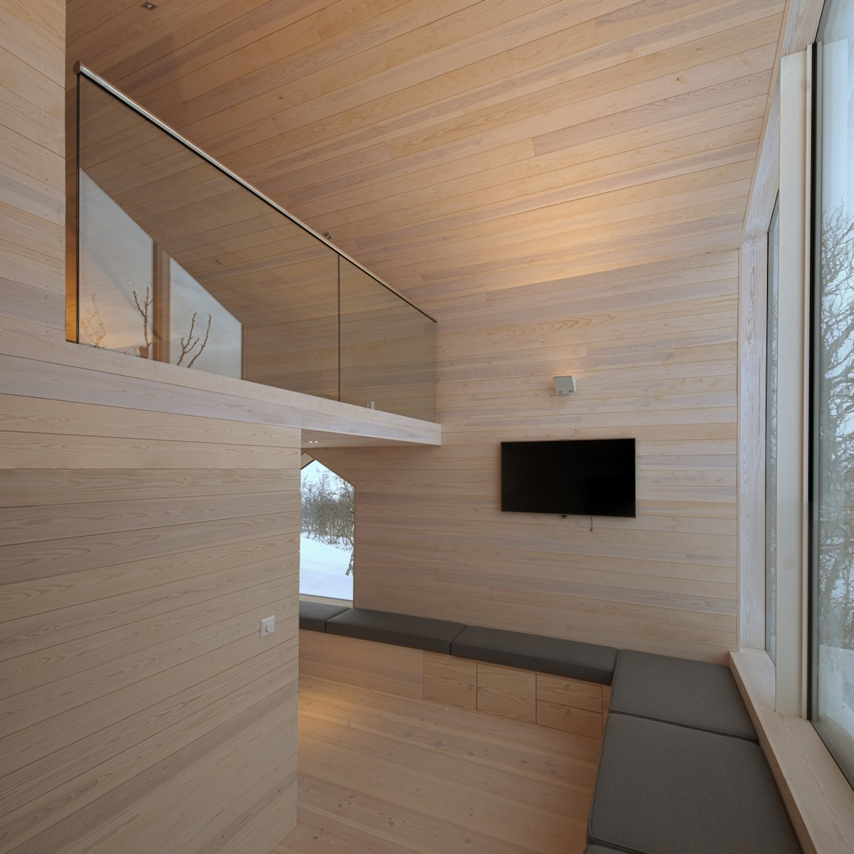 Living Space, Holiday Lodge in Havsdalen, Norway