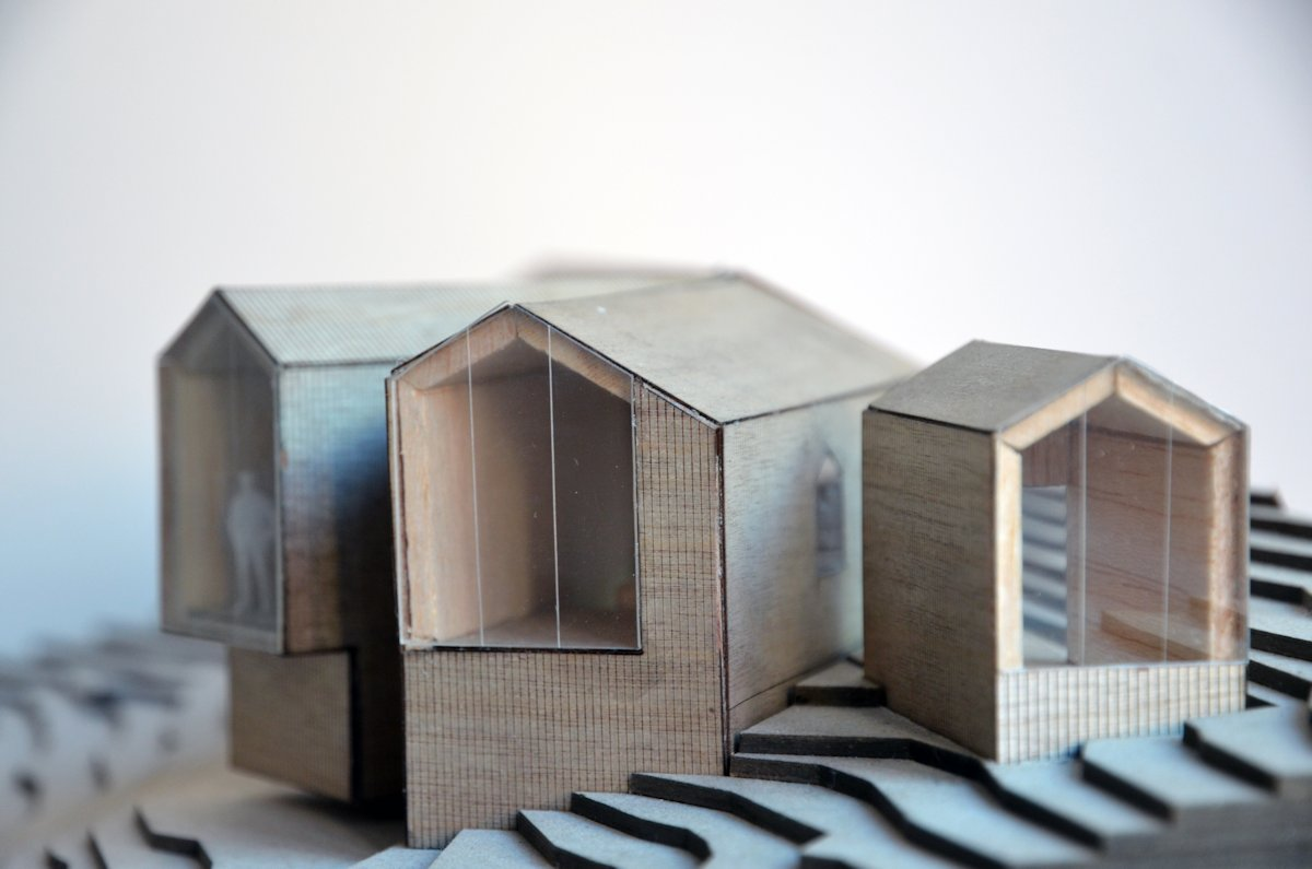 Model, Holiday Lodge in Havsdalen, Norway
