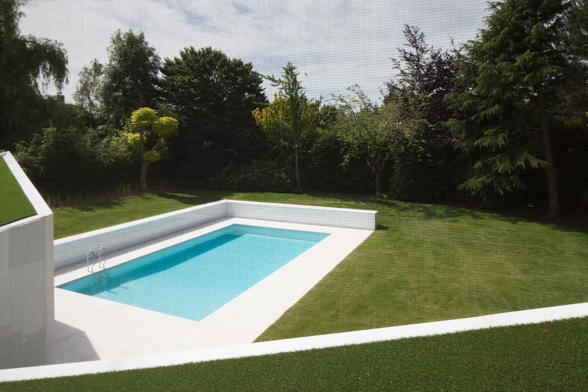Pool, Garden, Contemporary Renovation Brussels Belgium