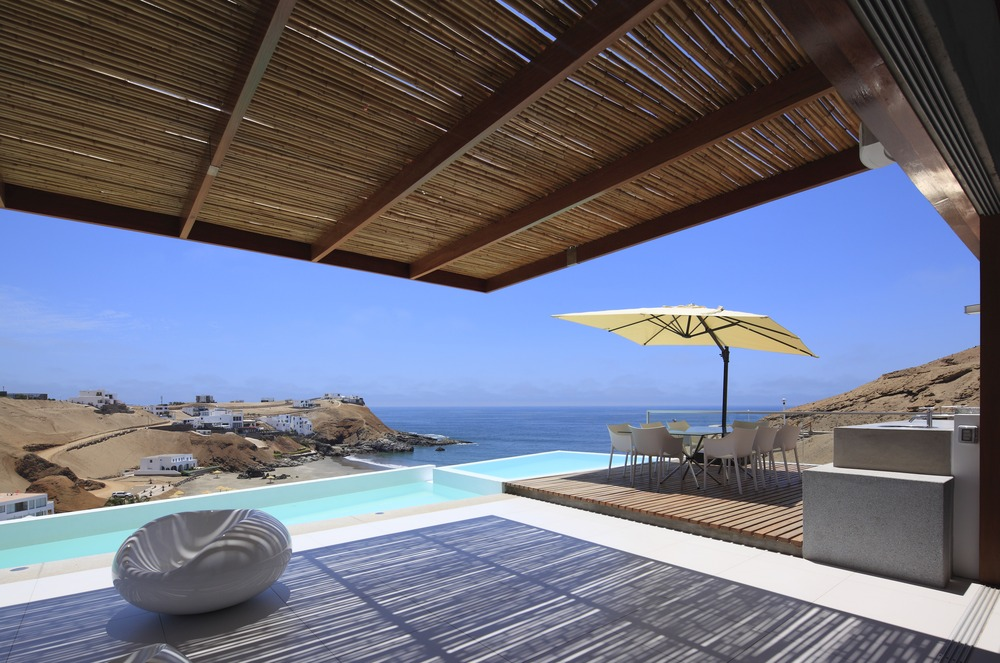 Pool, Hot Tub, Ocean Views, Beach, Stunning Home situated above Palillos Beach, Peru
