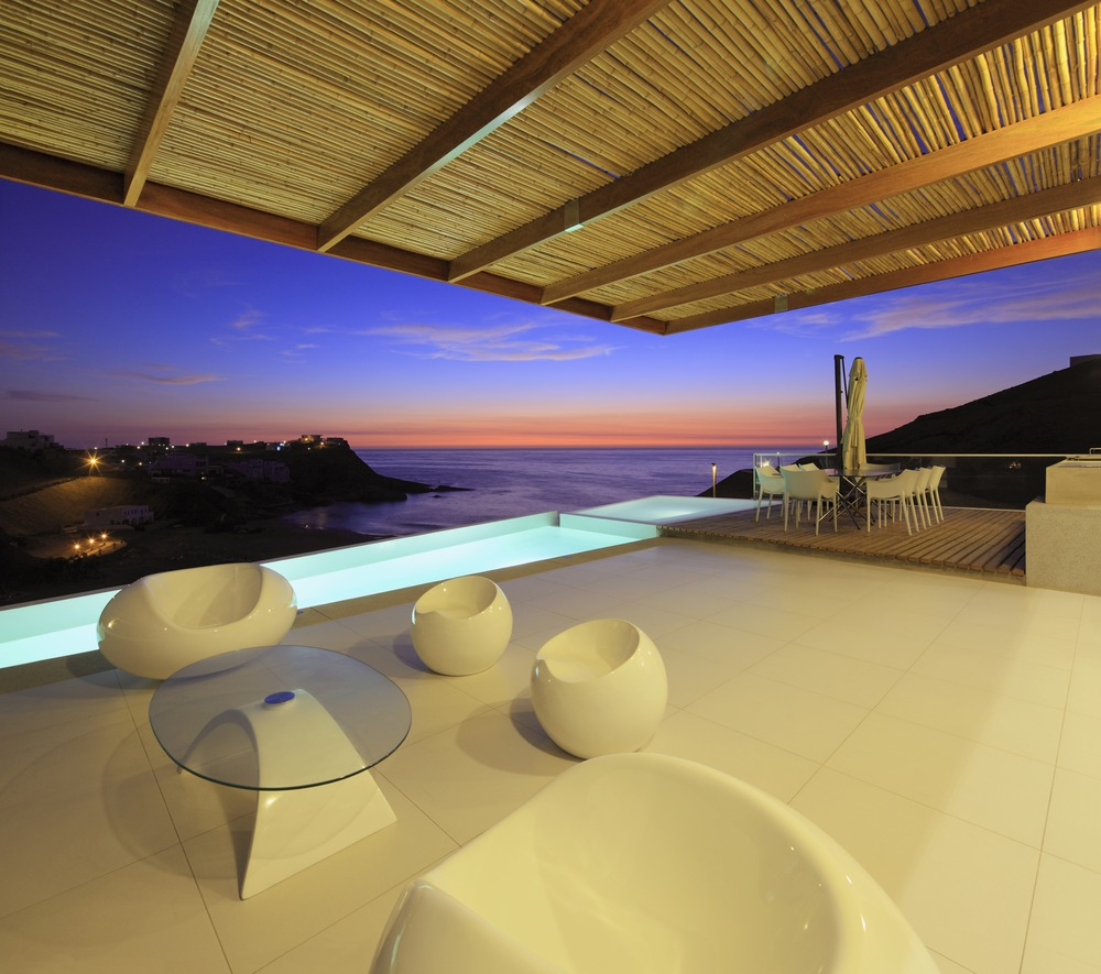 Pool, Terrace, Amazing Ocean Views, Stunning Home situated above Palillos Beach, Peru