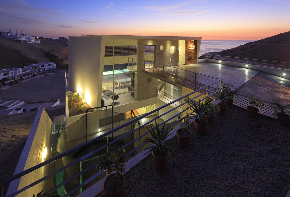 Stunning Home Situated Above Palillos Beach, Peru