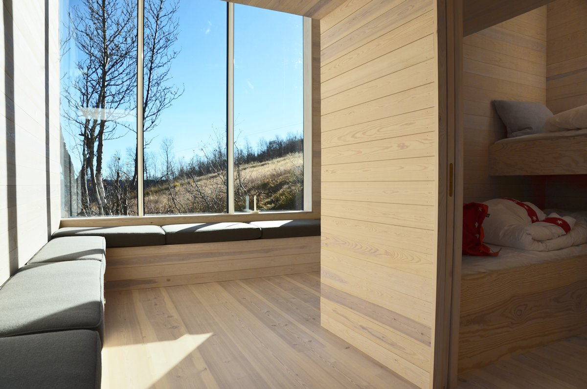 Seating, Bedroom, Holiday Lodge in Havsdalen, Norway