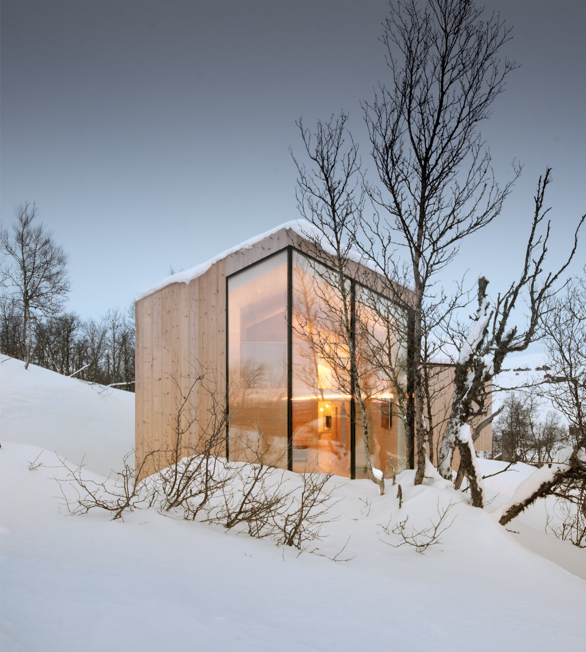 Snowy Lodge, Holiday Lodge in Havsdalen, Norway