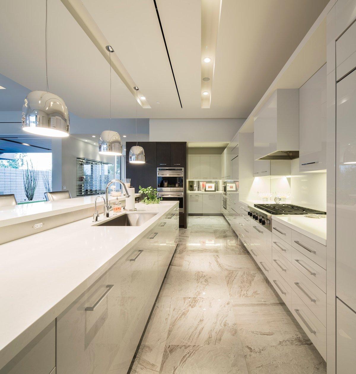 Kitchen Cabinets Scottsdale Az: Mid-Century Modern Inspired Birds Nest Residence In