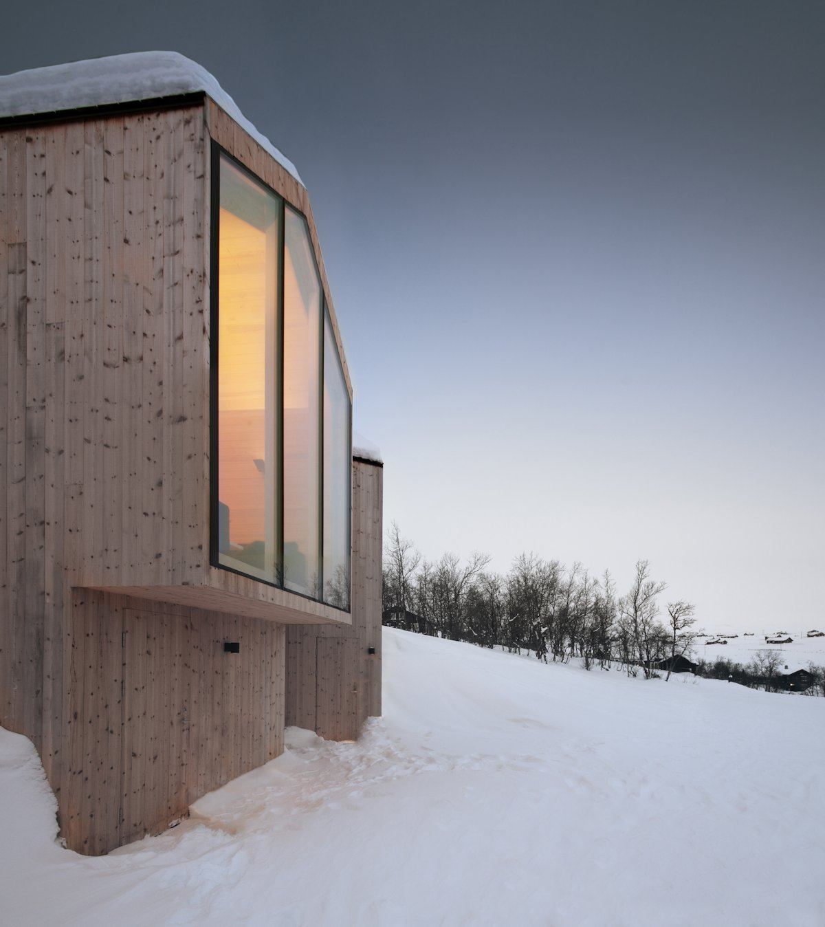 Wood Cladding, Holiday Lodge in Havsdalen, Norway