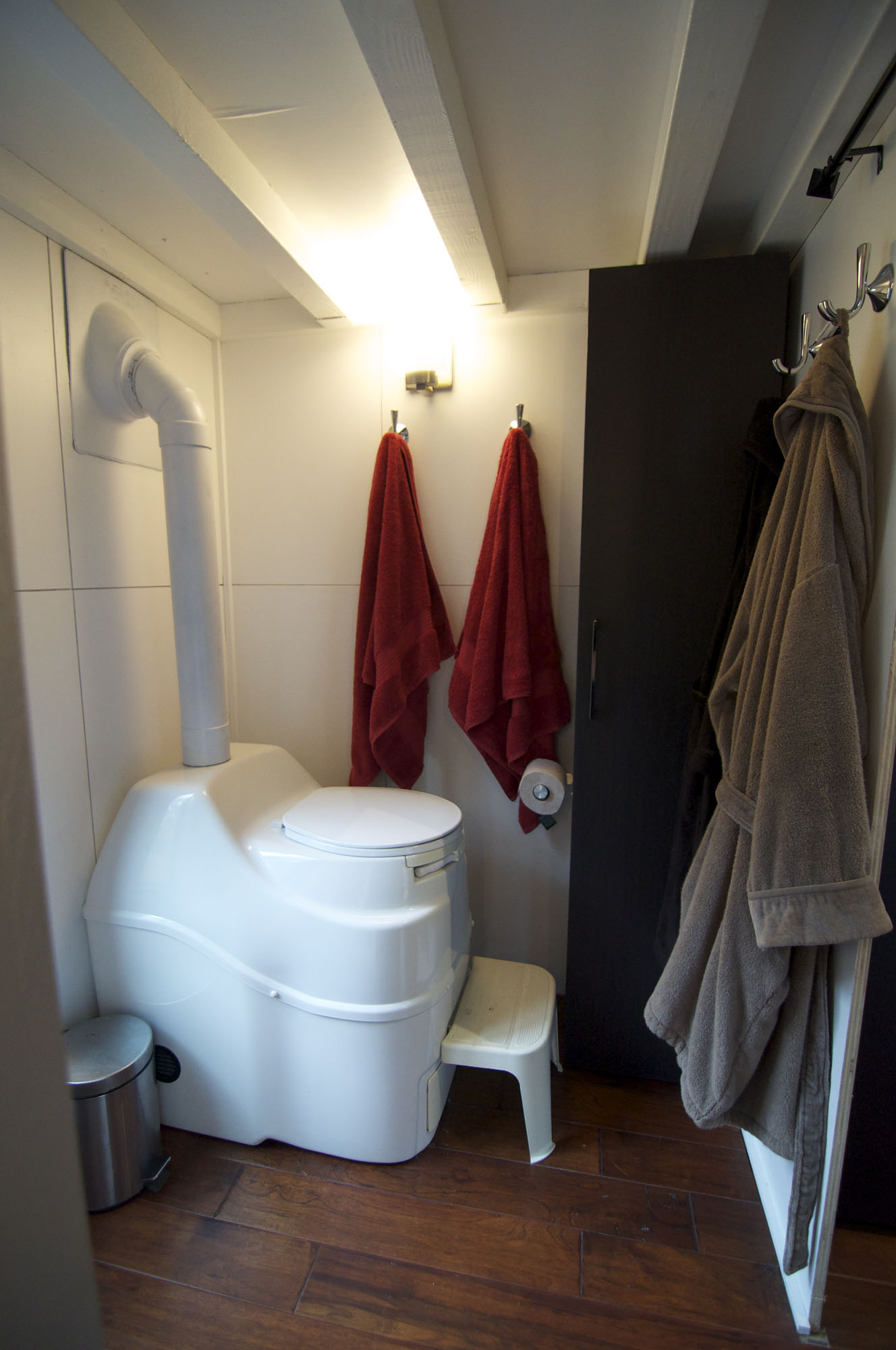 Bathroom, Toilet, Tiny House on Wheels