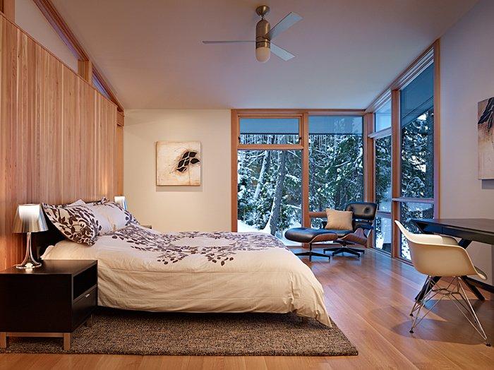 Bedroom, Rug, Mountain Home Lake Wenatchee, Washington