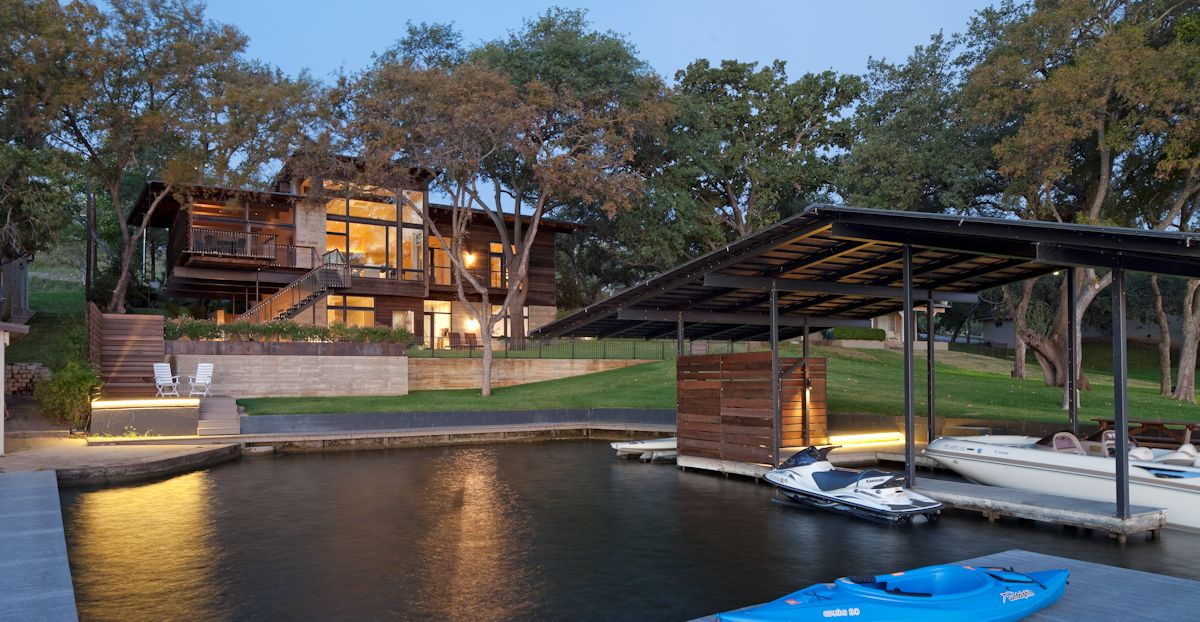 Boat Dock, Terrace, Weekend Retreat in Marble Falls, Texas
