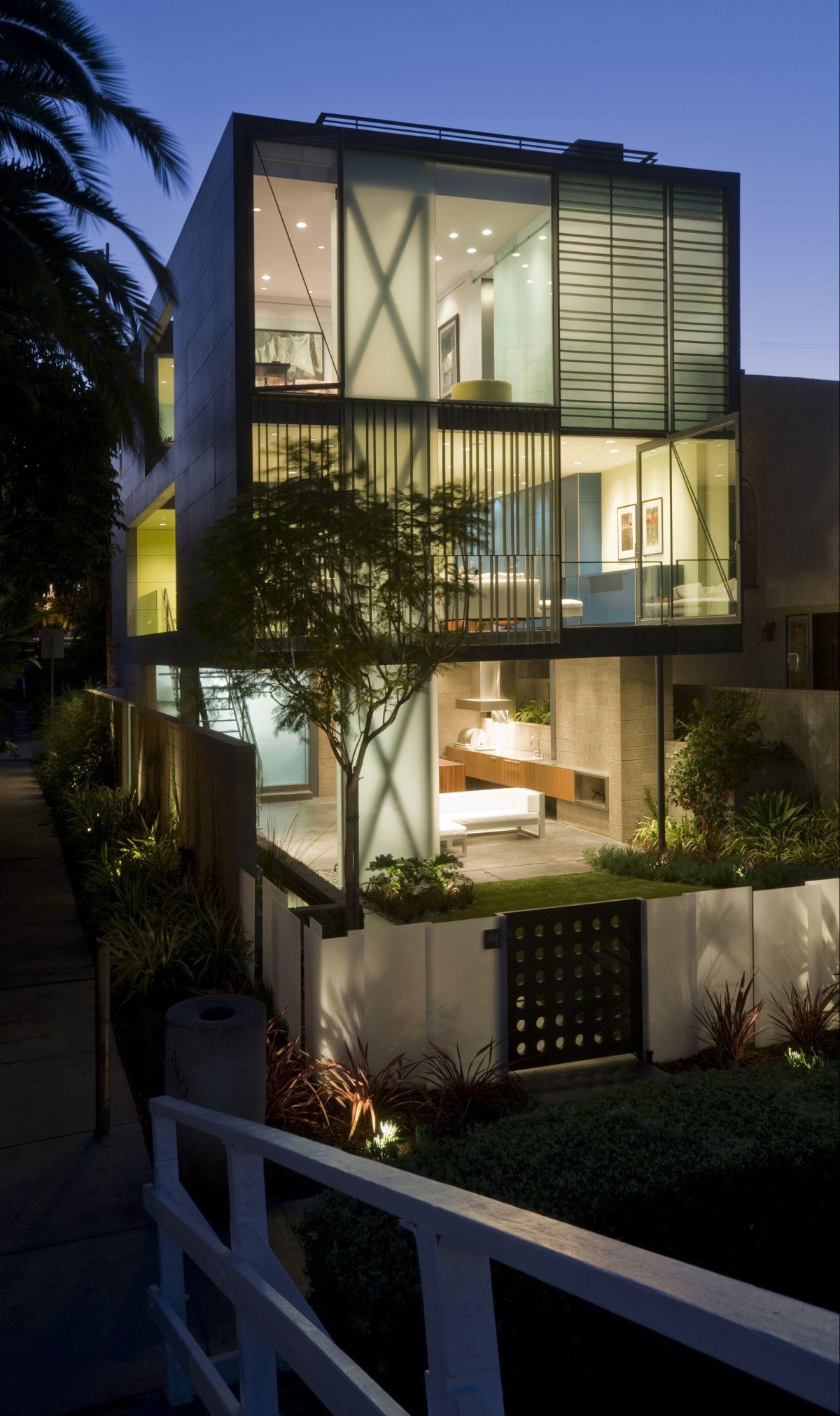 Bridge, View, Hover House 3, Los Angeles, California