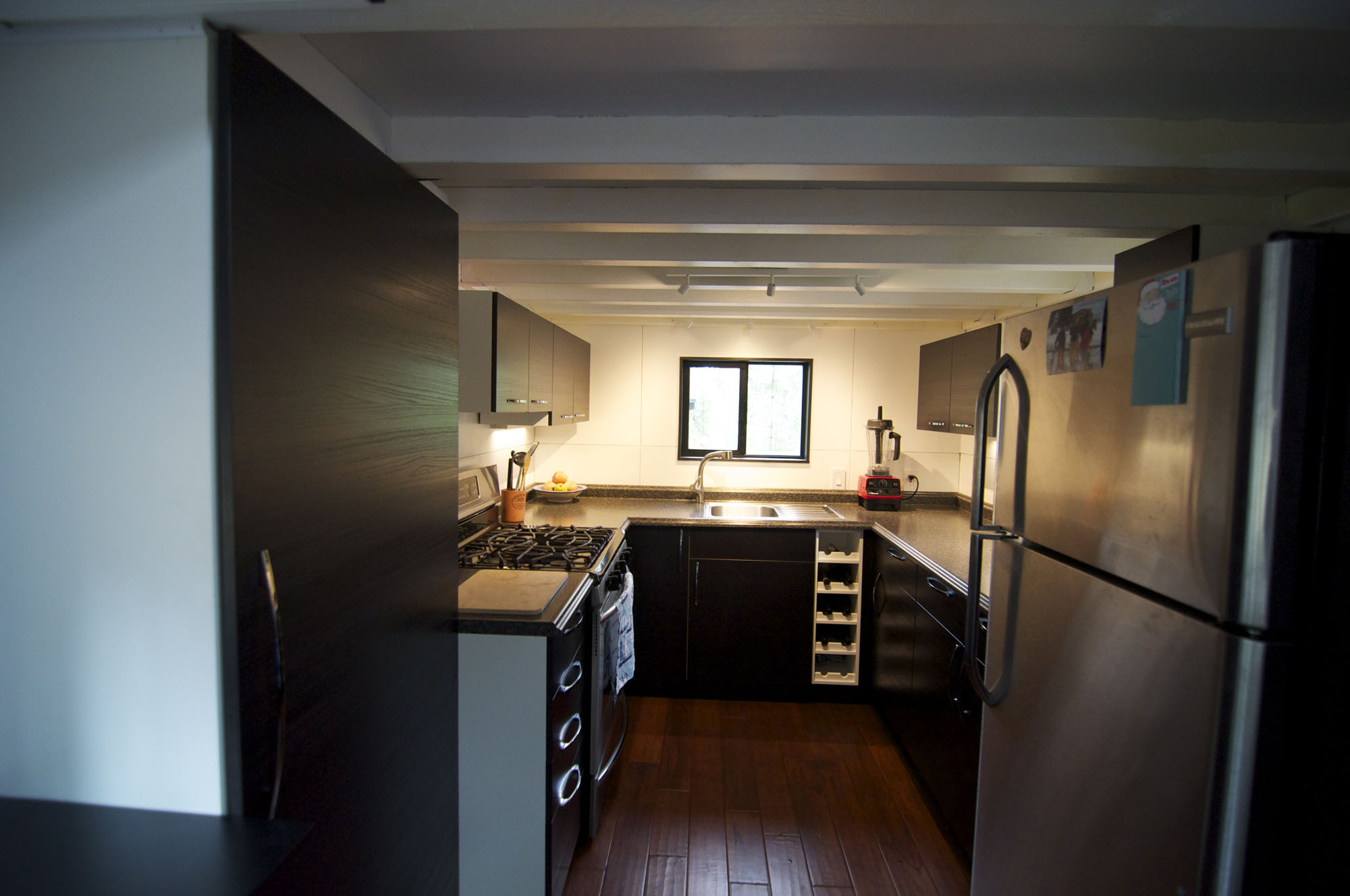 Tiny house on wheels home by andrew and gabriella morrison Kitchen design for tiny house