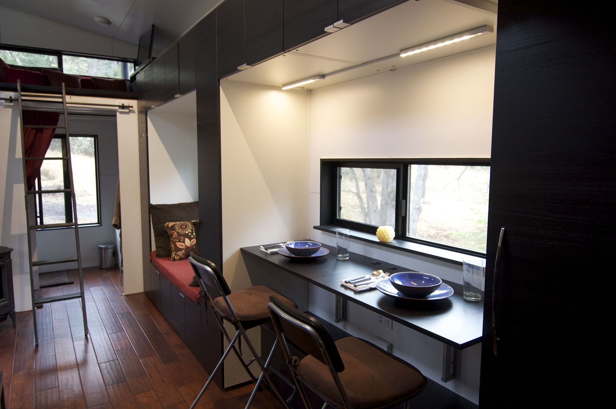 Dining Table, Tiny House on Wheels