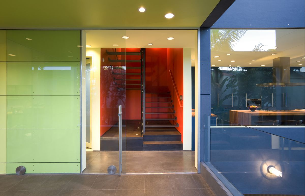 Glass Doors, Hover House 3, Los Angeles, California