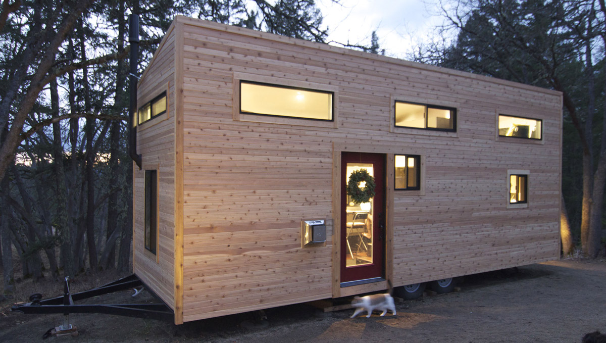 Tiny House on Wheels: hOMe by Andrew and Gabriella Morrison
