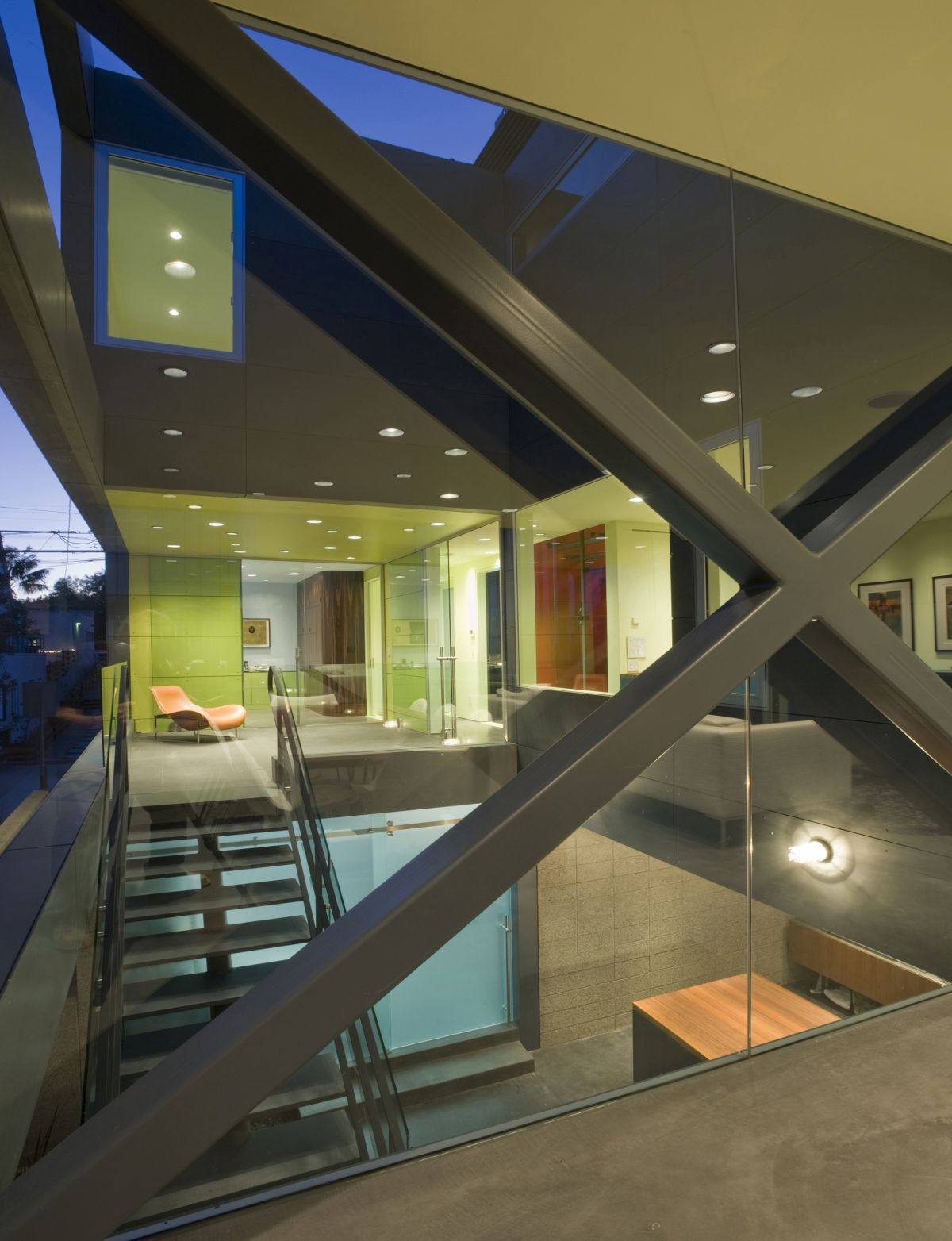 Glass Walls, Hover House 3, Los Angeles, California