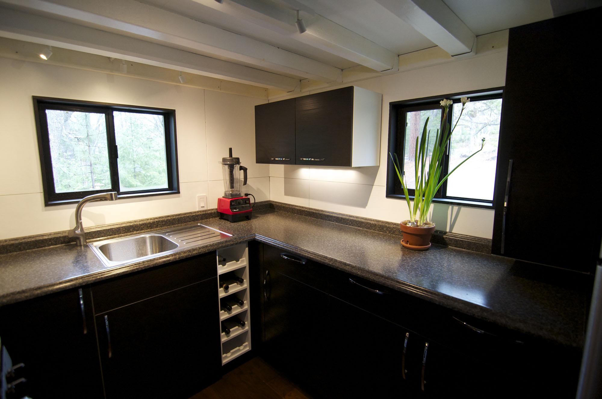 Kitchen Details, Tiny House on Wheels