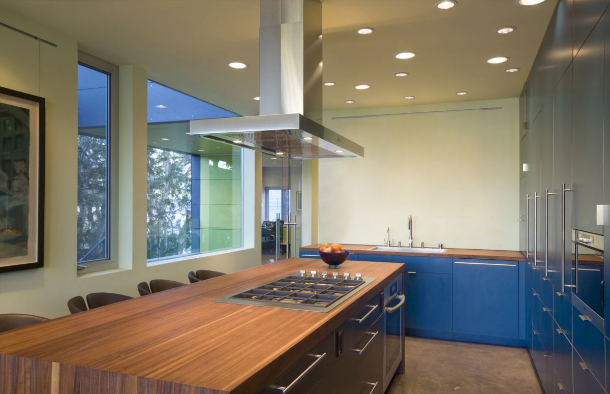 Kitchen, Hover House 3, Los Angeles, California