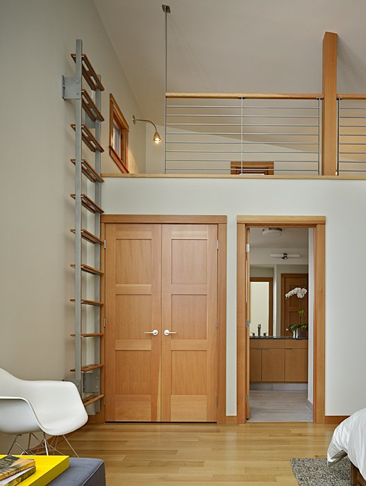 Mezzanine, Ladder, Mountain Home Lake Wenatchee, Washington