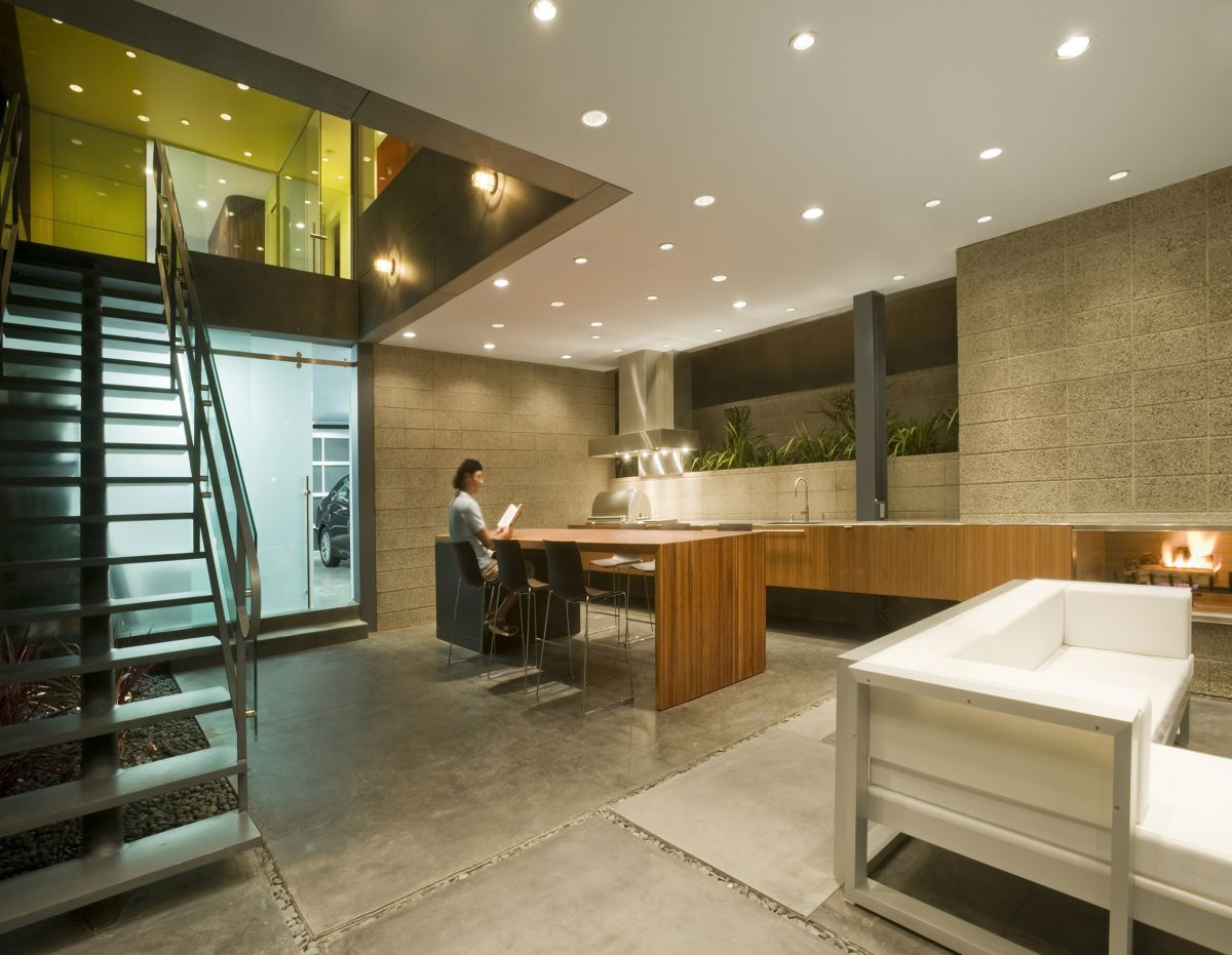 Open Plan, Hover House 3, Los Angeles, California