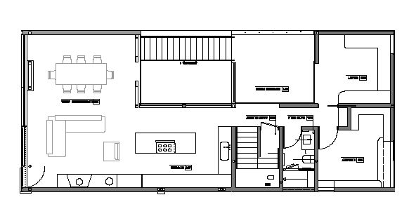 Floor plan of a house 2017