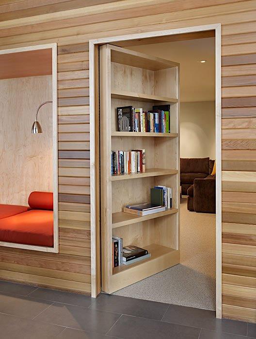 Shelves, Hidden Door, Mountain Home Lake Wenatchee, Washington