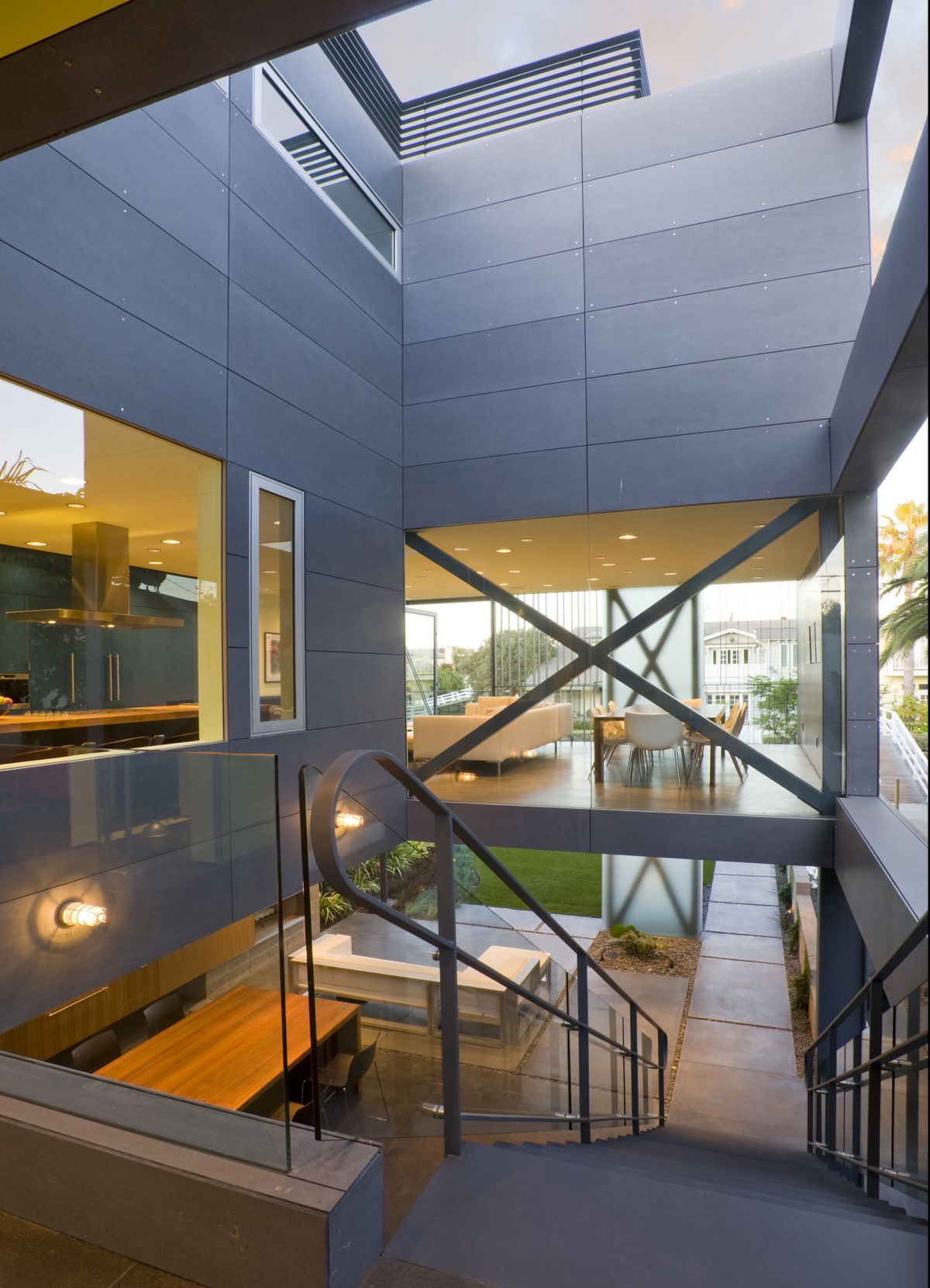 Stairs, Hover House 3, Los Angeles, California