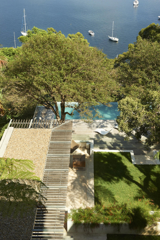 Veranda, Pool, Terrace, Family Home, Sydney's Middle Harbour