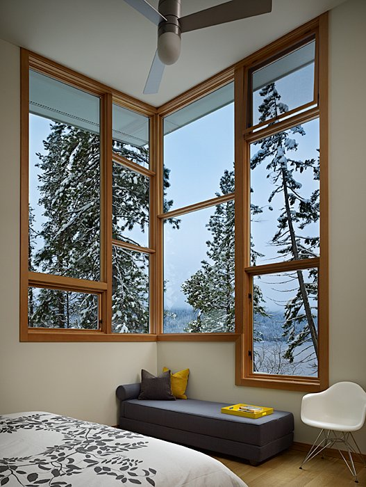 Window Seating, Bedroom, Mountain Home Lake Wenatchee, Washington