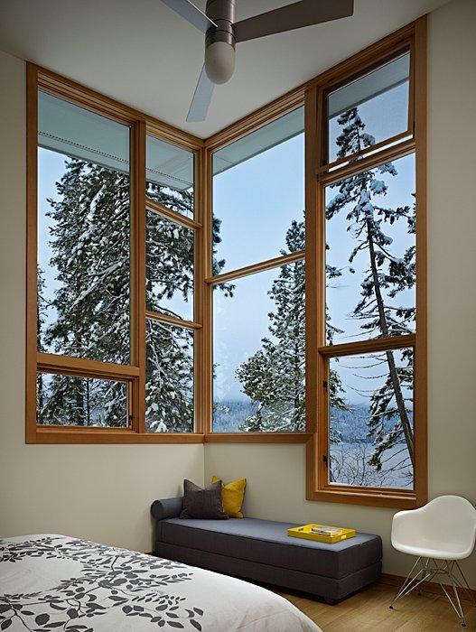 Window Seating, Bedroom, Mountain Home Lake Wenatchee, Washington