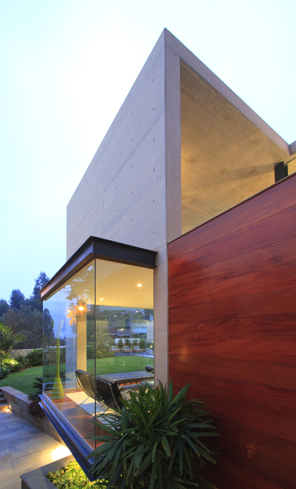Architecture  Exposed Concrete Walls  Family Home In Lima  Peru   Fresh Palace