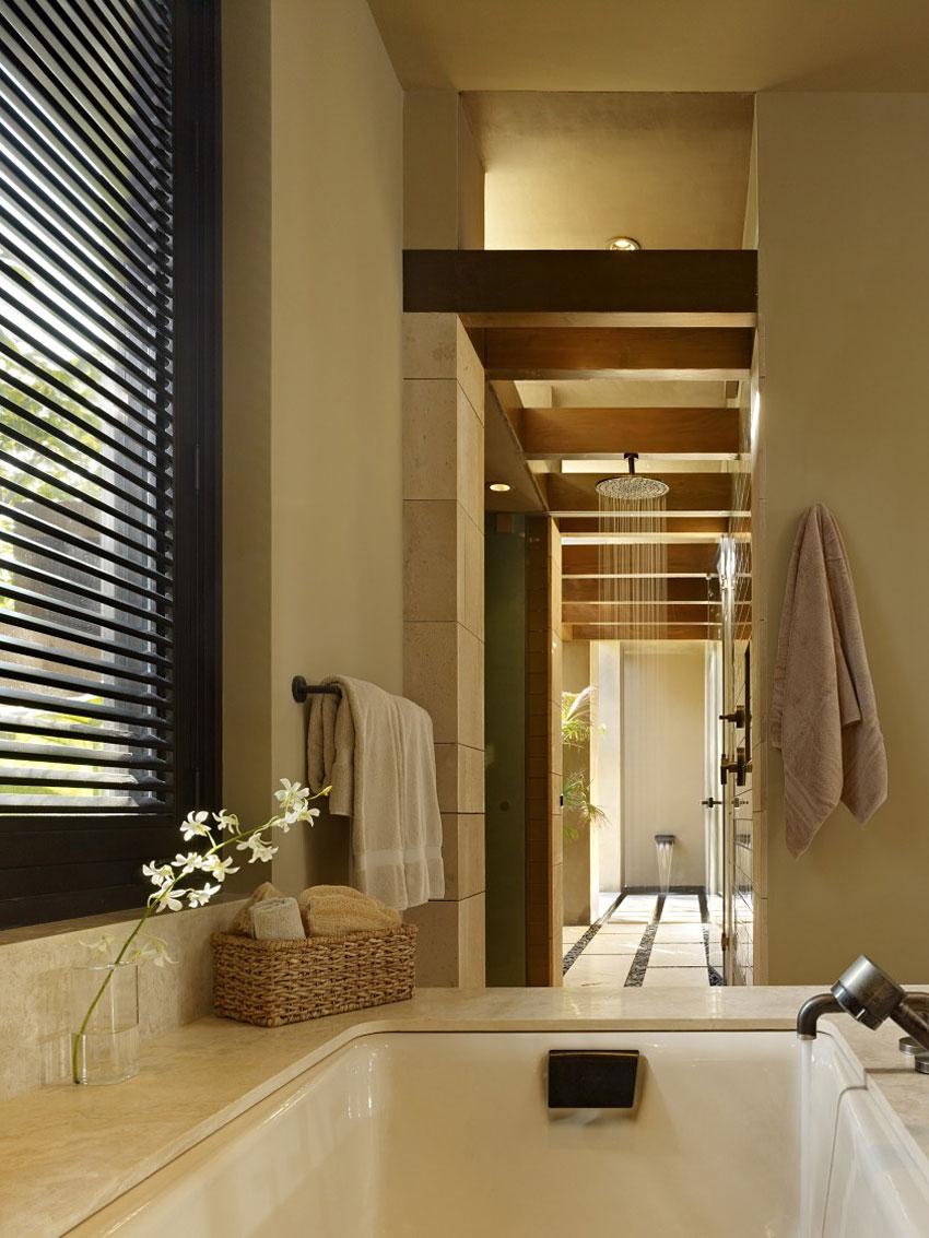 Bath, Shower, Beachfront Home in Cabo San Lucas, Mexico