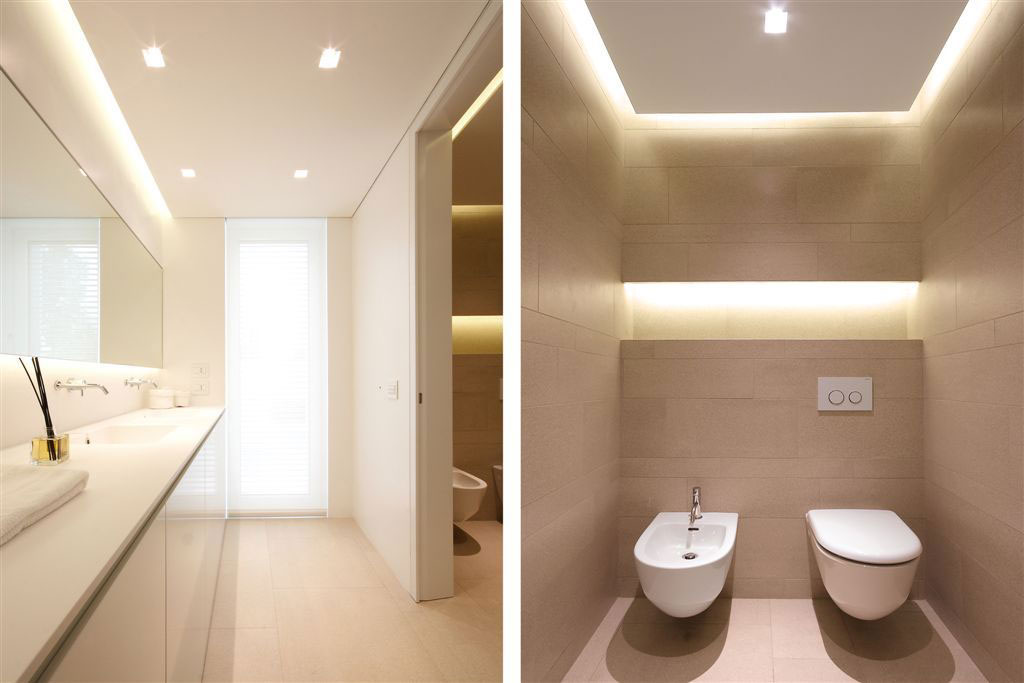Bathroom, Contemporary Villa in Jesolo Lido, Venice, Italy