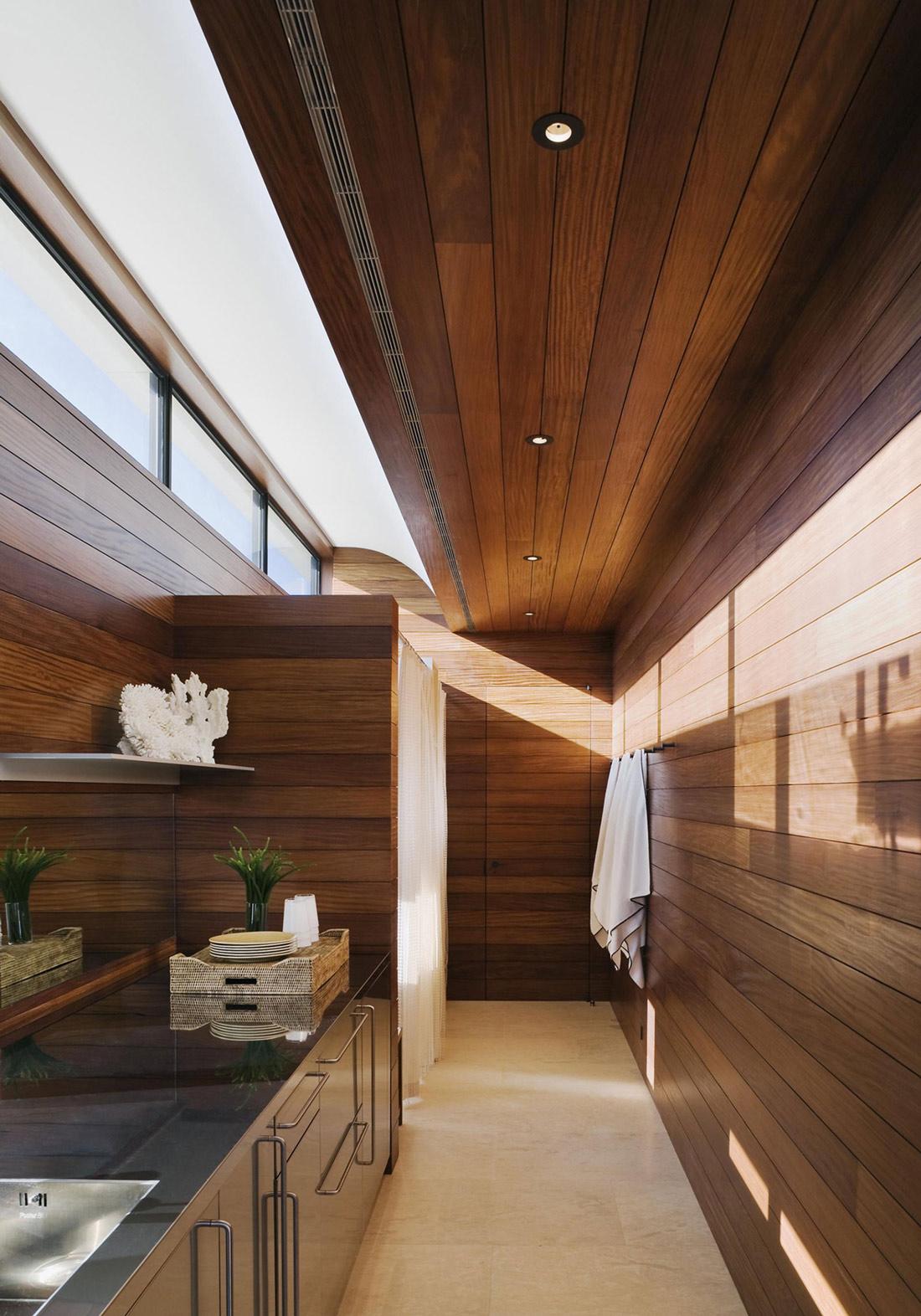 Bathroom, Shower, Summer Retreat in Southampton, New York