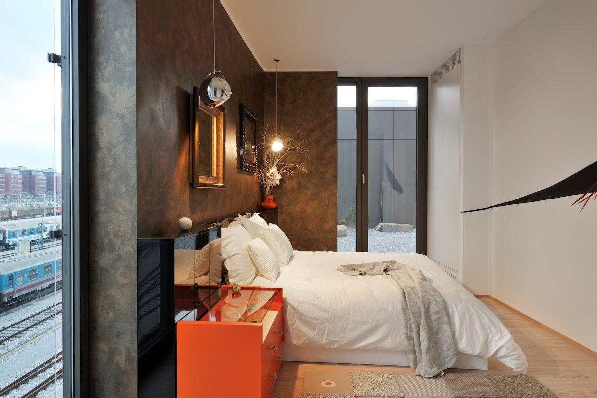 Bedroom, Apartment in Ljubljana, the Capital of Slovenia
