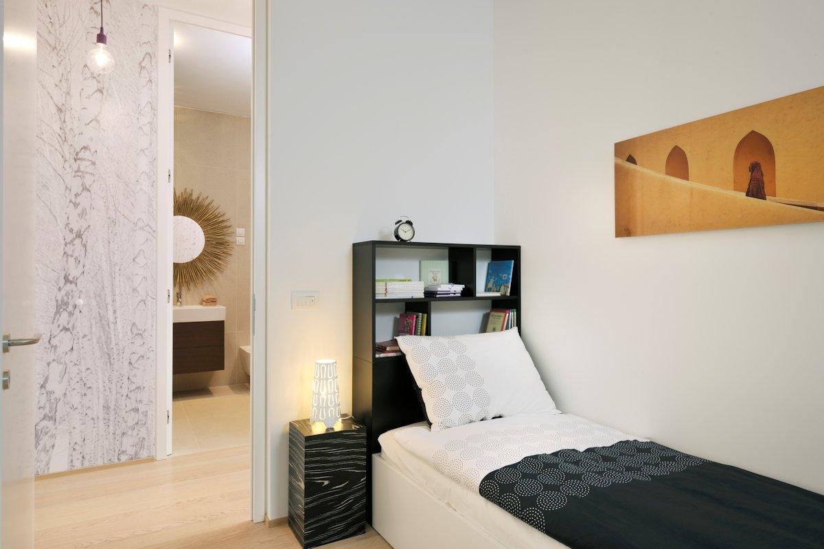 Bedroom, Art, Apartment in Ljubljana, the Capital of Slovenia