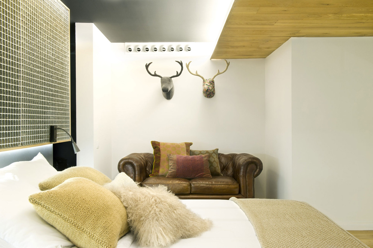 Bedroom, Art, Loft Style Home in Terrassa, Spain