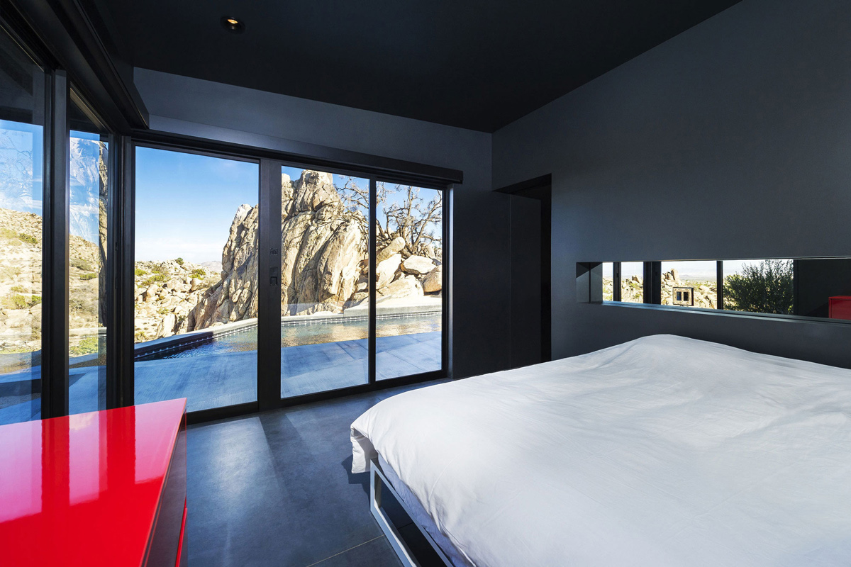 Bedroom, Views, Mountain Home in Twentynine Palms, California