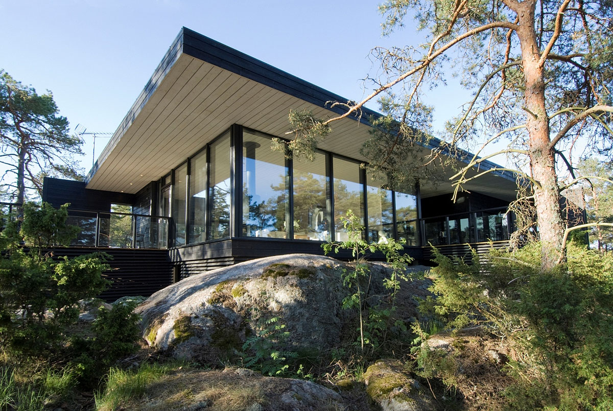 Modern Vacation Home in Merimasku, Finland