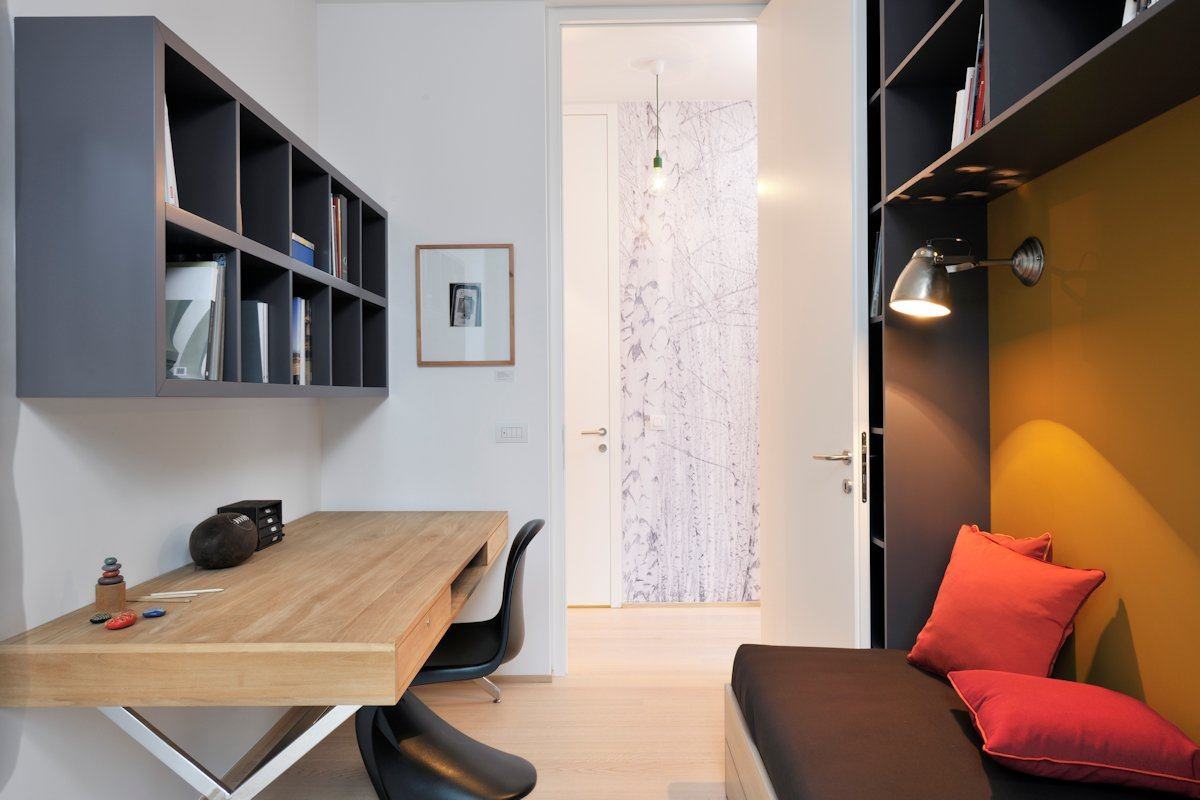 Home Office, Apartment in Ljubljana, the Capital of Slovenia