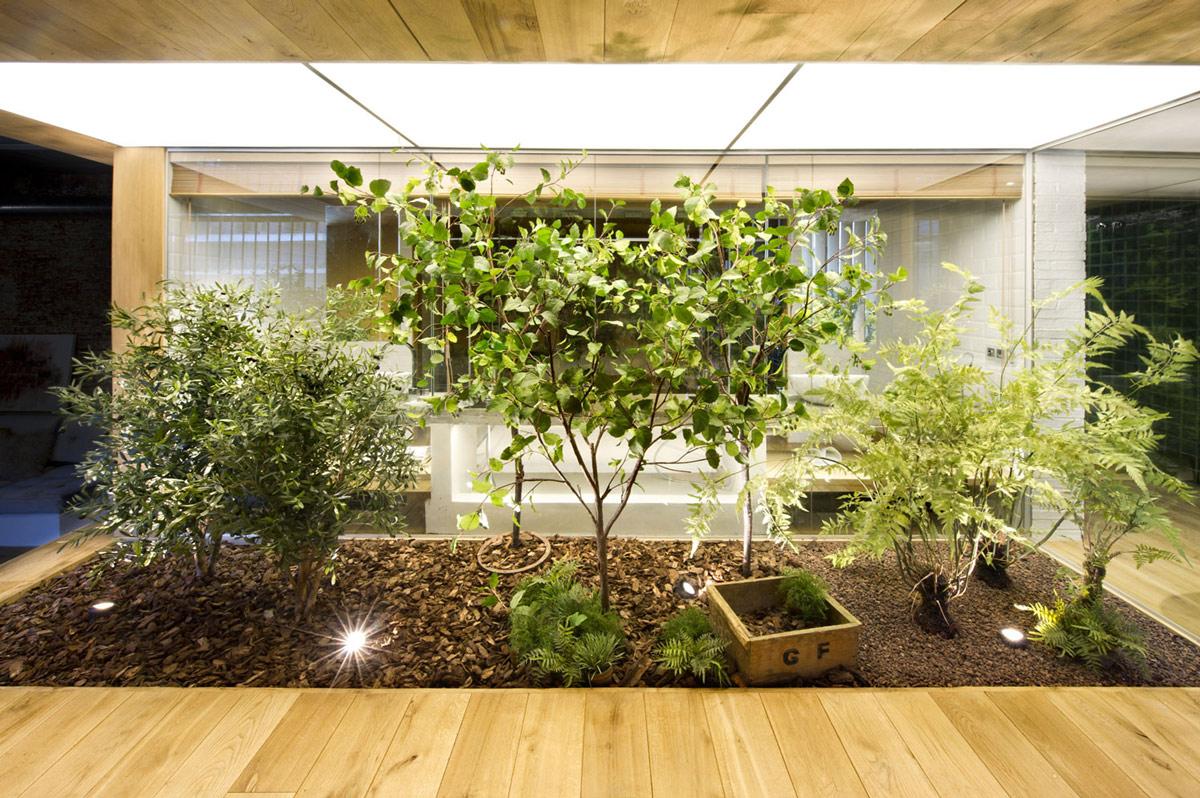 Indoor Garden Loft Style Home Terrassa Spain