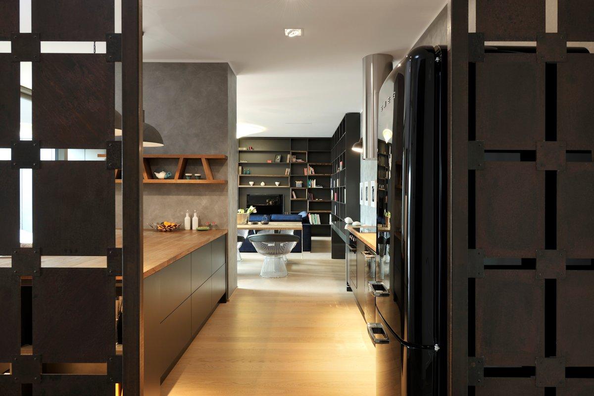 Kitchen, Living Space, Apartment in Ljubljana, the Capital of Slovenia