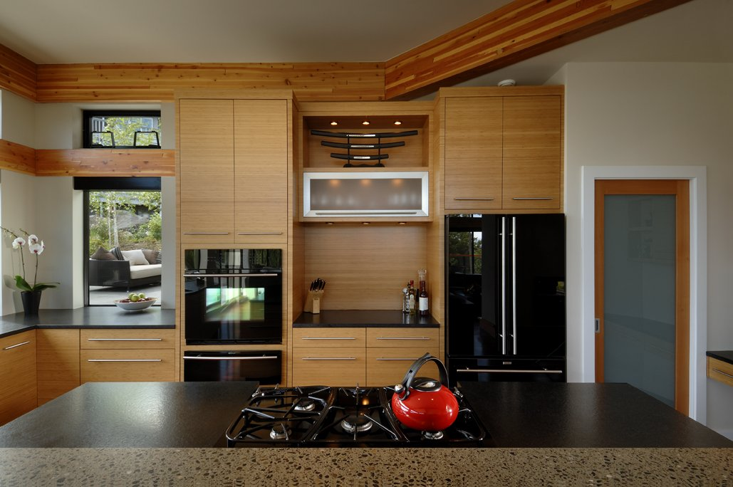Kitchen, Modern Home in Victoria, British Columbia