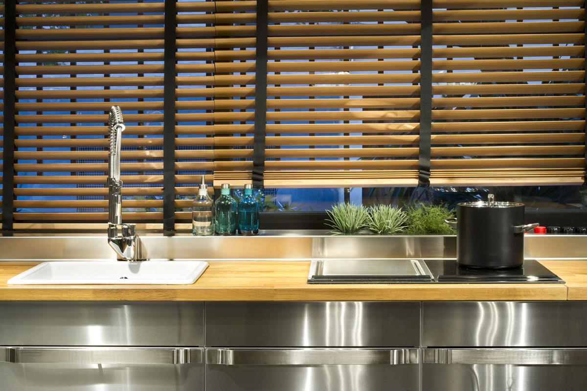 Kitchen, Sink, Loft Style Home in Terrassa, Spain