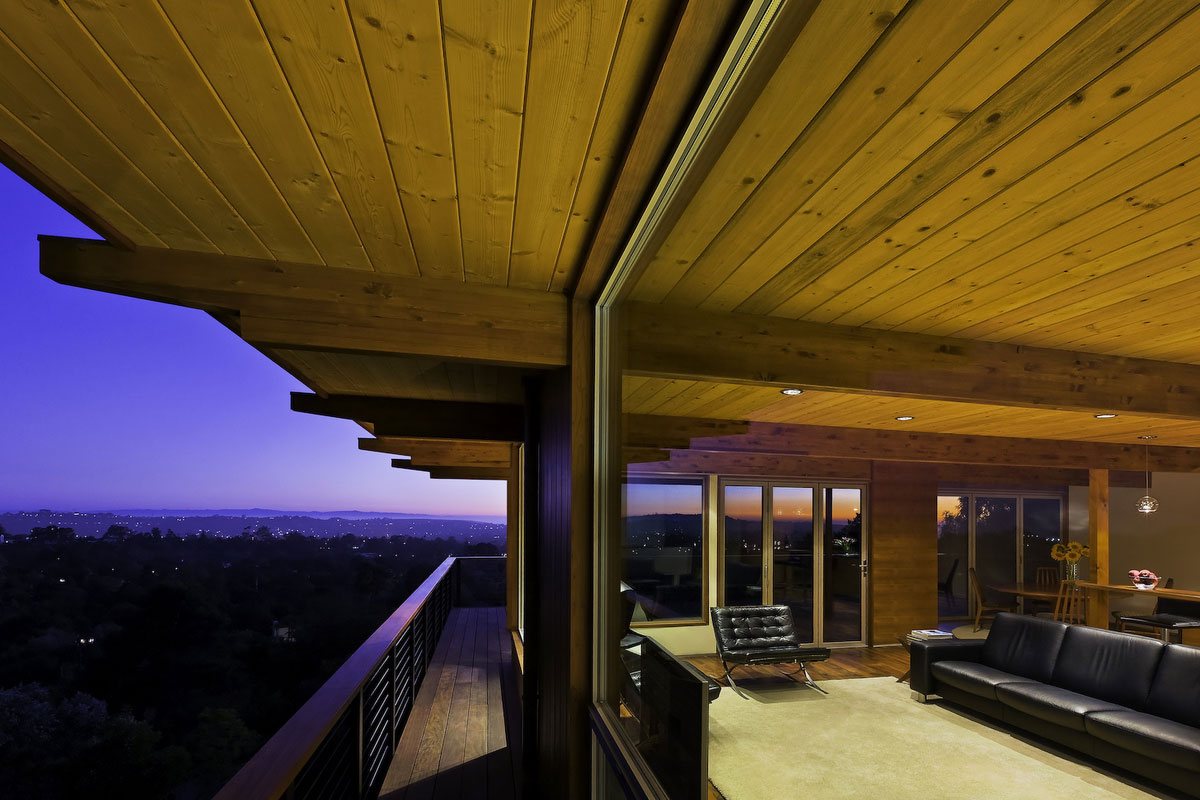 Large Windows, Balcony, Views, Mid-Century Modern Home in Santa Barbara, California