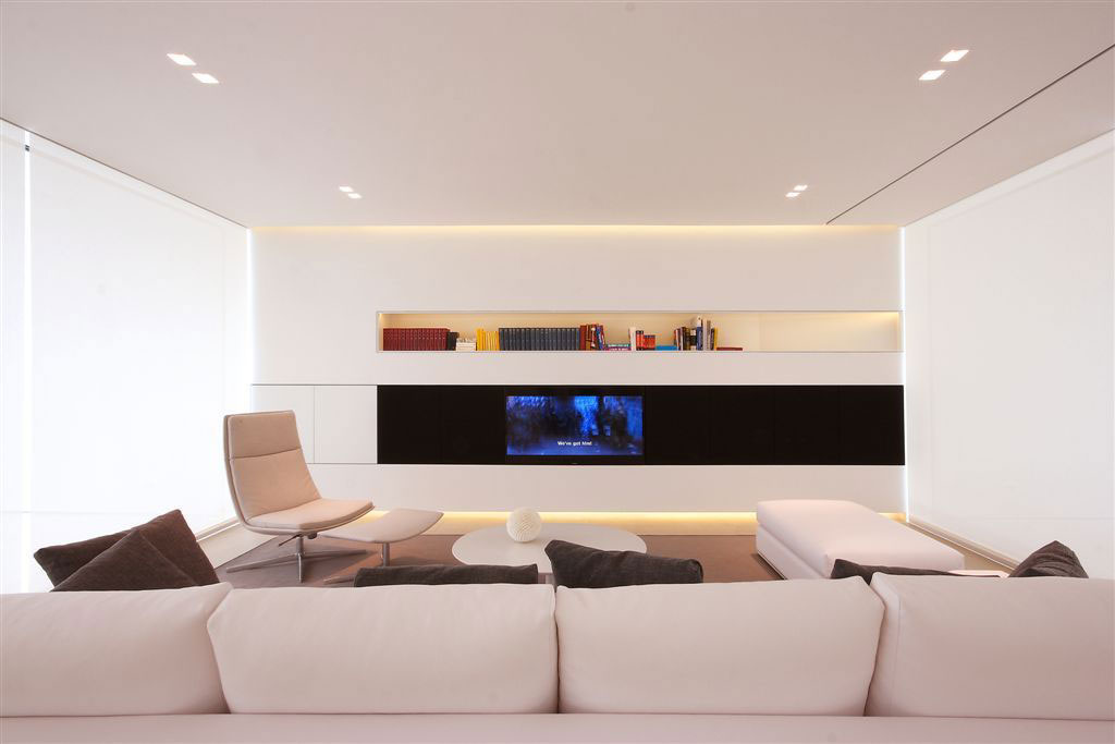 Living Room, Contemporary Villa in Jesolo Lido, Venice, Italy